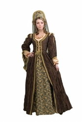 1600s England Anne Boleyn Period Costume