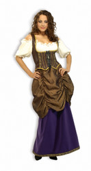 Gypsy Pirate Wench Halloween Costume