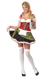 Bavarian Bar Maid Wench Hallowen Costume