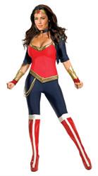 Wonder Woman Licensed Ladies Costume