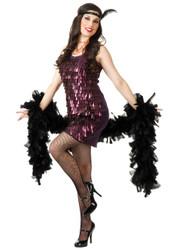 Tear Drop Flapper Dress Womens Costume