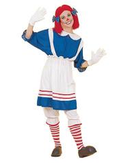 Raggedy Ann Rag Doll Girl