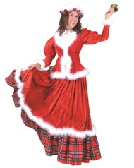 Classical Mrs. Claus Holiday Costume