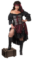 Plus Size Sassy Pirate Wench