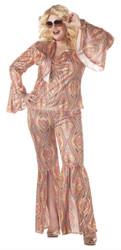 Discolicious Plus Size Glam Disco Costume
