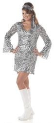Disco Diva Plus Size Go Go Dress