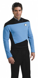 Blue Star Trek Next Generation Shirt Costume