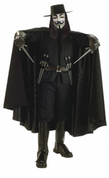 Deluxe V For Vendetta Men's Costume