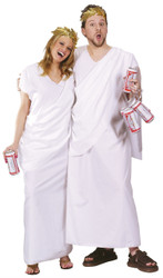 Toga One Size Adult Halloween Costume