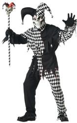 Evil Court Jester Costume