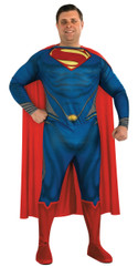 Men's Superman New Man of Steel Plus Sized Costume
