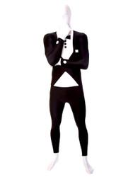 Tuxedo Print Morphsuit Full Body Costume