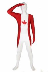 Canada Flag Morphsuit Full Body Costume