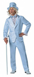 Blue Dumb and Dumber Tuxedo Costume