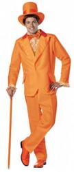 Orange Dumb and Dumber Tuxedo Costume