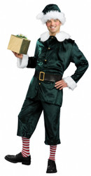 Jolly Green Christmas Elf Costume