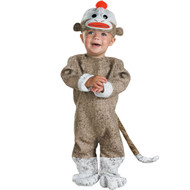 Sock Monkey Boy's Toddler Halloween Costume