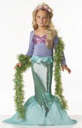 Little Mermaid Glamour Halloween Costume