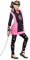 Dragon Ninja Girl's Costume