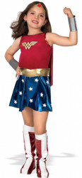 Wonder Woman Girl's Halloween Costume