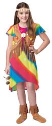 Groovy Flower Child Girls Costume