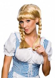 Cowgirl Western Costume Wig