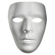 Blank Male Mime Mask