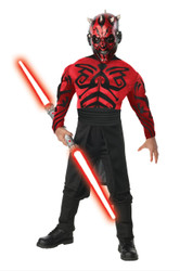 Kids Darth Maul Muscle Chest Costume