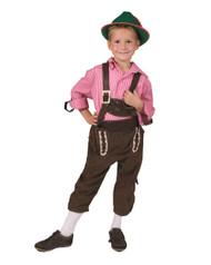 Child's Tirol Lederhosen Costume