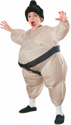 Funny Inflatable Kids Sumo Wrestler Costume