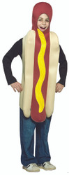 Kids Hot Dog Halloween Costume
