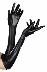 Long Black Dominique Glove