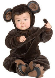 Infant Plush Monkey Costume
