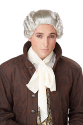 18th Century Peruke Colonial Wig