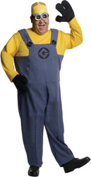 Plus Size Adult Minion Dave Costume