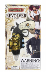 Adult Steampunk Revolver Costume Accessory