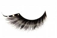 Black Eyelashes with Jewel Accent