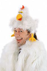 The Clucker Chicken Hat