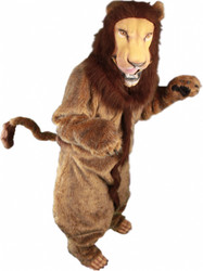 Full Lion Mascot Costume