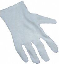 Short White Theatrical Gloves