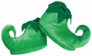 Deluxe Plush Elf Shoes with Jingle Bells