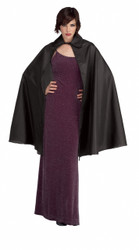 Medium Length Black Cape