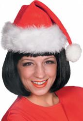 Red Velvet Santa Hat