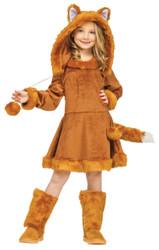 Sweet Fox Girls Halloween Costume