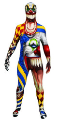 Adult Scary Clown Halloween Morphsuit