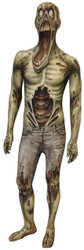Kids Scary Zombie Morphsuit Halloween Costume