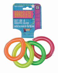 Neon 80s Spring Bracelets