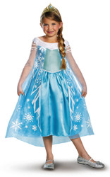Disney's Frozen Elsa Deluxe Girls Halloween Costume