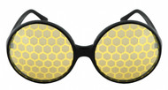 Yellow Fly or Mosquito Bug Eye Glasses