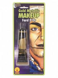 Gold Metallic Cream Halloween Face Paint